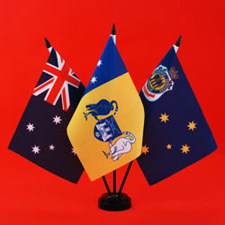 RSL Table Flag - Australia ACT RSL