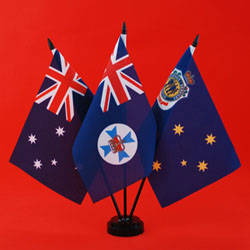RSL Table Flag - Australia QLD RSL