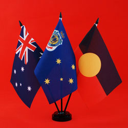 RSL Table Flag - Australia RSL Aboriginal
