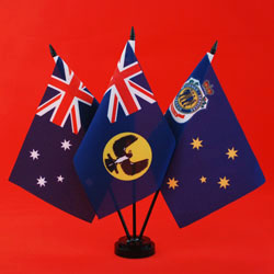 RSL Table Flag - Australia SA RSL