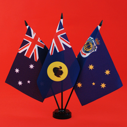 RSL Table Flag - Australia WA RSL