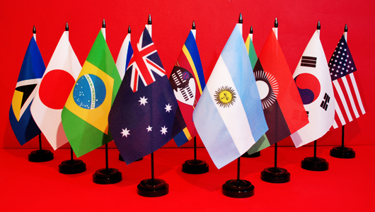 Hire Table Flags Hire Table Flagpoles World Country Flags