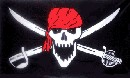 Red Brethren Pirate Flag