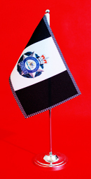 Australian Federal Police AFP Table Flag Desk Flag 150mm x 230mm by Adwareflags.com