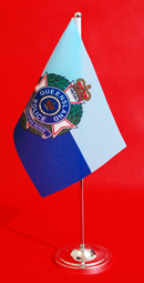 Queensland Police Table Flag Desk Flag 150mm x 230mm by Adwareflags.com