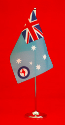 RAAF Table Flag Desk Flag 150mm x 230mm by Adwareflags.com