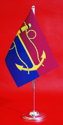 Chief of Navy Table Flag Desk Flag 150mm x 230mm by Adwareflags.com