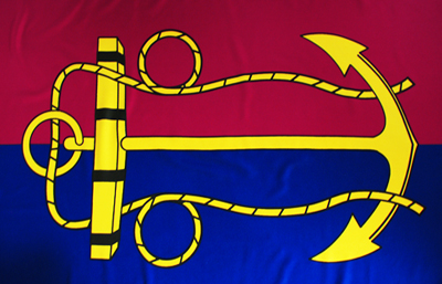 Vice Admiral Chief of Navy Flag by Adwareflags.com