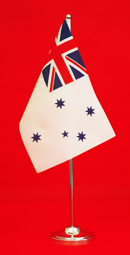 Royal Australian Navy Table Flag Desk Flag 150mm x 230mm by Adwareflags.com