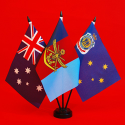 Australia ADF RSL Table Flags