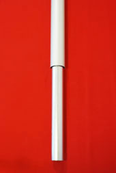 Flagpole Inground Installation Spigot Tube, set directly into concrete footing galvanised steel